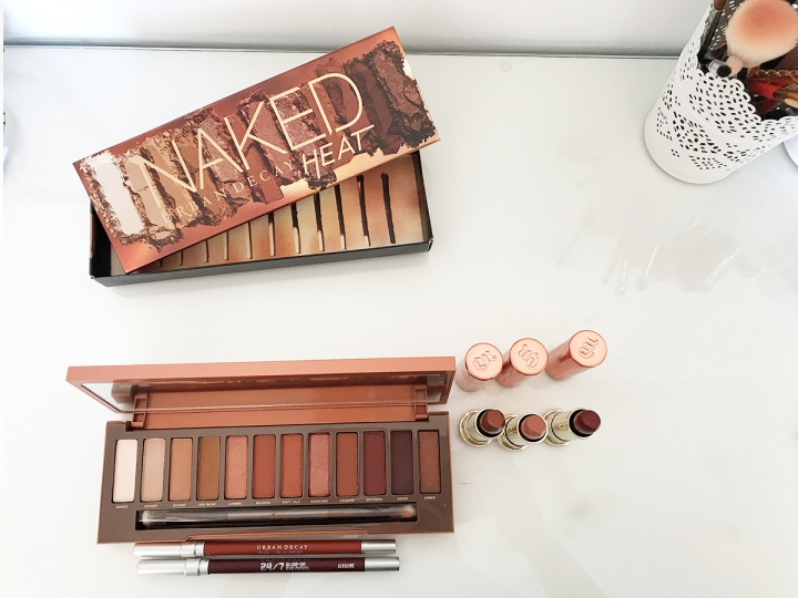 La collection Heat de Urban Decay