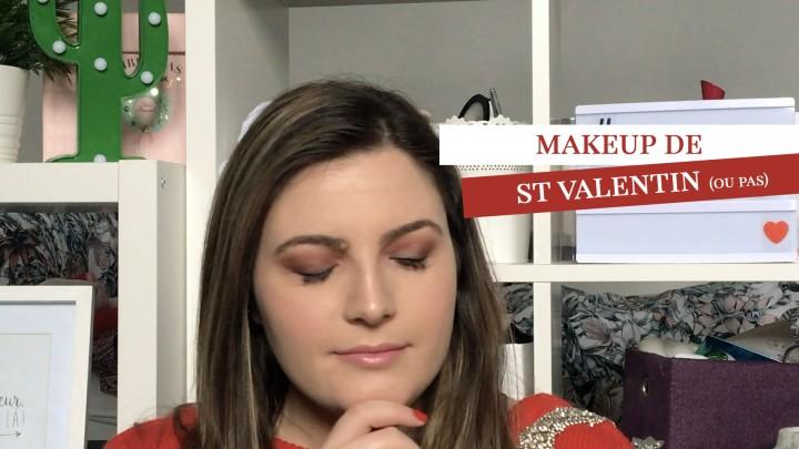 VIDÉO #13 // Makeup de St Valentin (oupas)